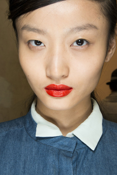 Andrew Gn at Paris Spring 2013 (Backstage)