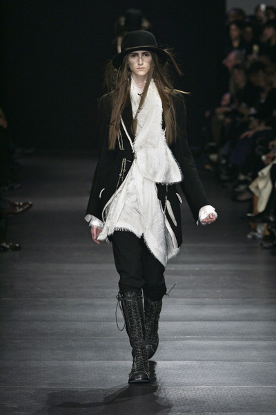 Ann Demeulemeester at Paris Fall 2008