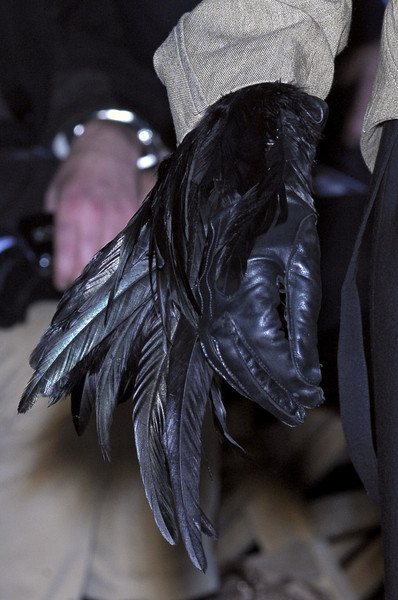 Ann Demeulemeester at Paris Fall 2010 (Details)