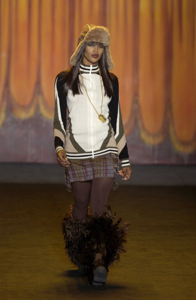 Anna Sui at New York Fall 2003