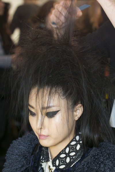 Anna Sui Fall 2013 - Backstage