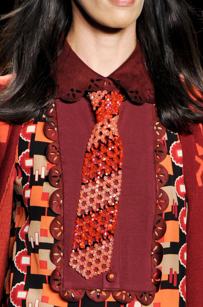 Anna Sui Fall 2013 - Details