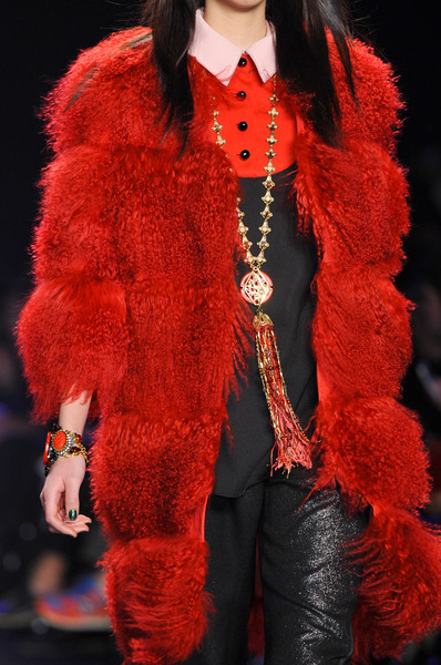 Anna Sui at New York Fall 2014 (Details)