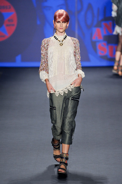 Anna Sui at New York Spring 2013