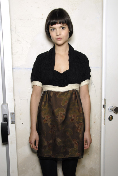 Anne Valérie Hash Spring 2007 - Backstage