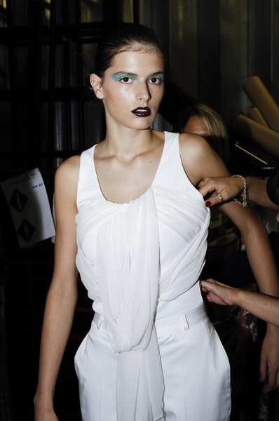 Ashley Isham Spring 2008 - Backstage