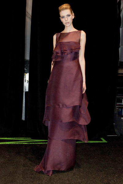 Badgley Mischka Fall 2009 - Backstage