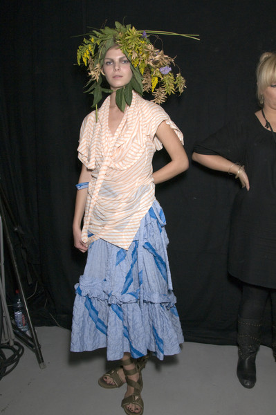 Bernhard Willhelm Spring 2010 - Backstage