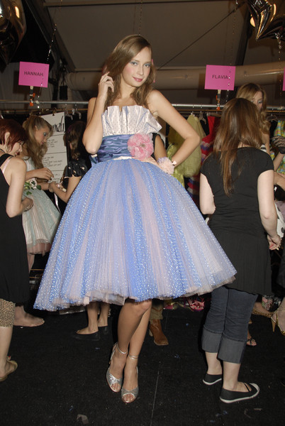 Betsey Johnson Spring 2008 - Backstage