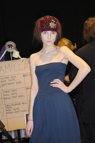 Betty Jackson Fall 2008 - Backstage