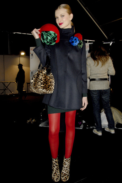 Blugirl Fall 2007 - Backstage