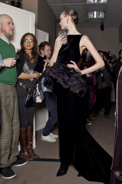 Bottega Veneta Fall 2012 - Backstage