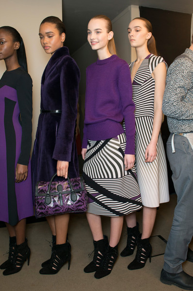 Bottega Veneta Fall 2014 - Backstage