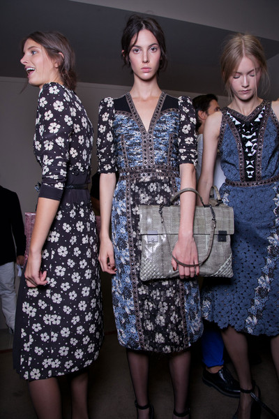 Bottega Veneta Spring 2013 - Backstage