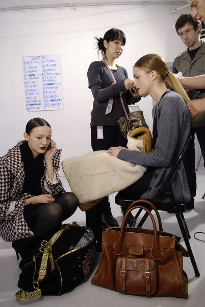Bruno Pieters Fall 2008 - Backstage