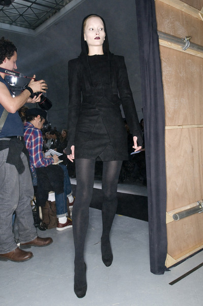 Bruno Pieters Fall 2009 - Backstage
