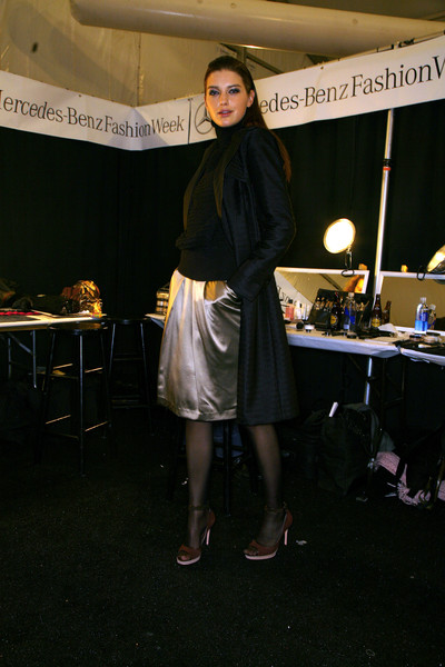 Carlos Miele at New York Fall 2007 (Backstage)