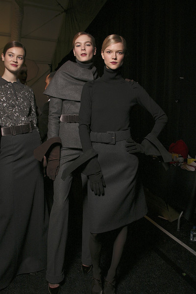 Carolina Herrera Fall 2011 - Backstage