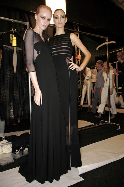 Chado Ralph Rucci Spring 2009 - Backstage