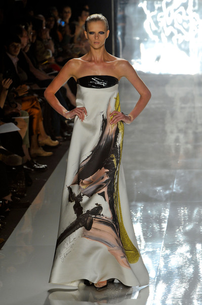 Best Spring 2013 Runway Gowns - Chado Ralph Rucci