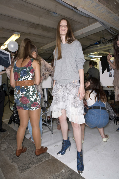 Christopher Kane Spring 2008 - Backstage