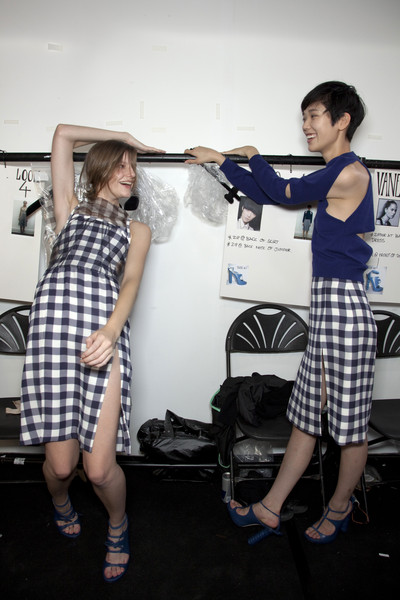 Christopher Kane Spring 2010 - Backstage