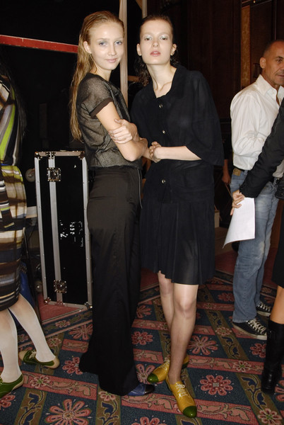 Cividini at Milan Spring 2008 (Backstage)