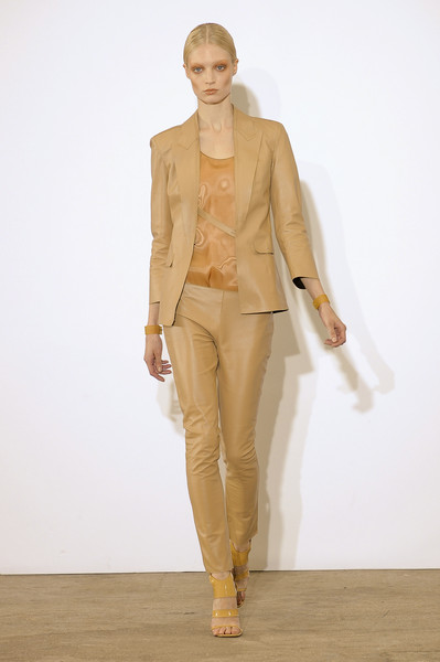 Costume National at Paris Spring 2011