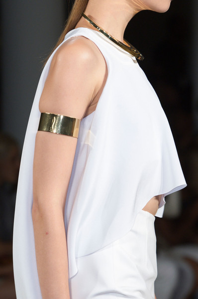Arm Cuffs at Cushnie et Ochs