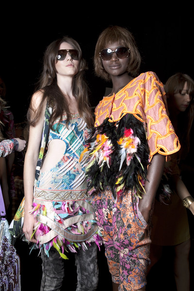 Custo Barcelona Spring 2011 - Backstage