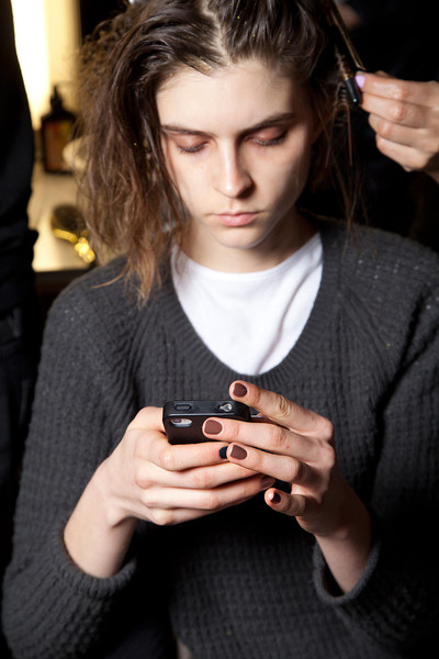 Cynthia Rowley at New York Fall 2012 (Backstage)
