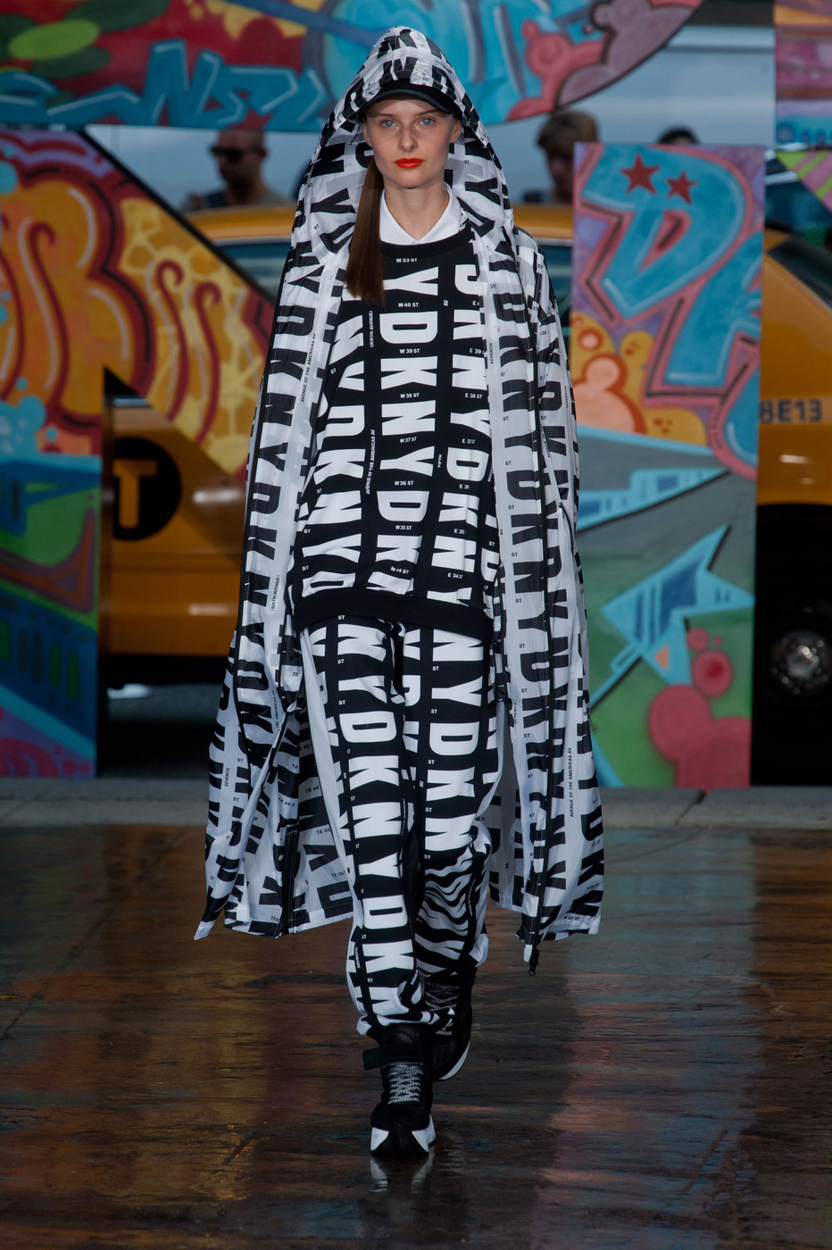 Surprise! Rita Ora Walked (No, Danced!) the Runway at DKNY