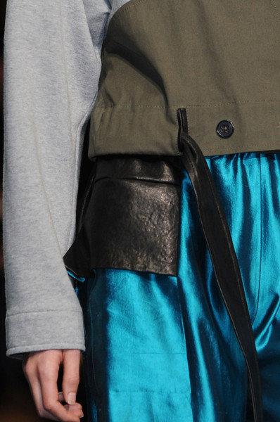Damir Doma at Paris Spring 2013 (Details)