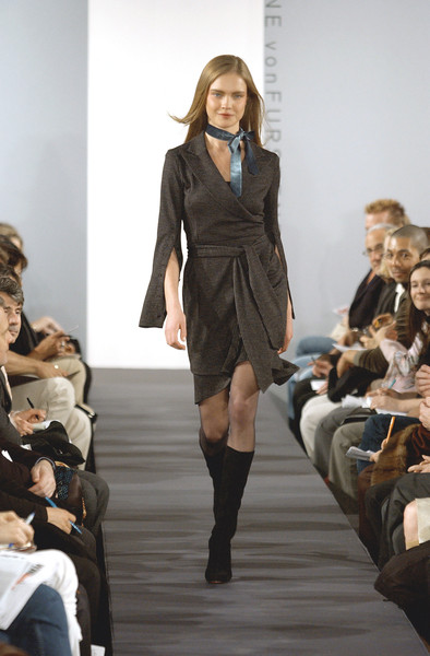 Diane von Furstenberg at New York Fall 2003