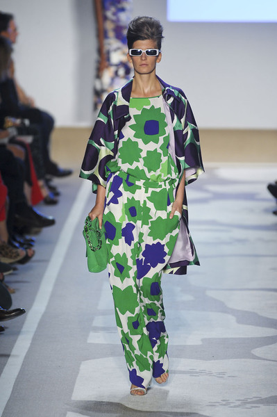 New York Fashion Week Spring 2012, Diane von Furstenberg