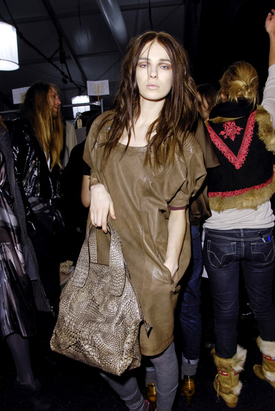 Diesel Black Gold at New York Fall 2008 (Backstage)