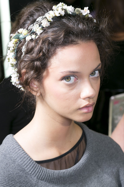 Dolce & Gabbana at Milan Spring 2014 (Backstage)