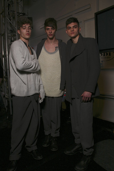 Duckie Brown Fall 2011 - Backstage