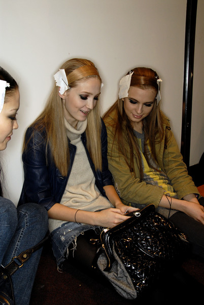 Elie Saab Fall 2007 - Backstage