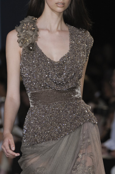 Elie Saab at Couture Fall 2010 (Details)