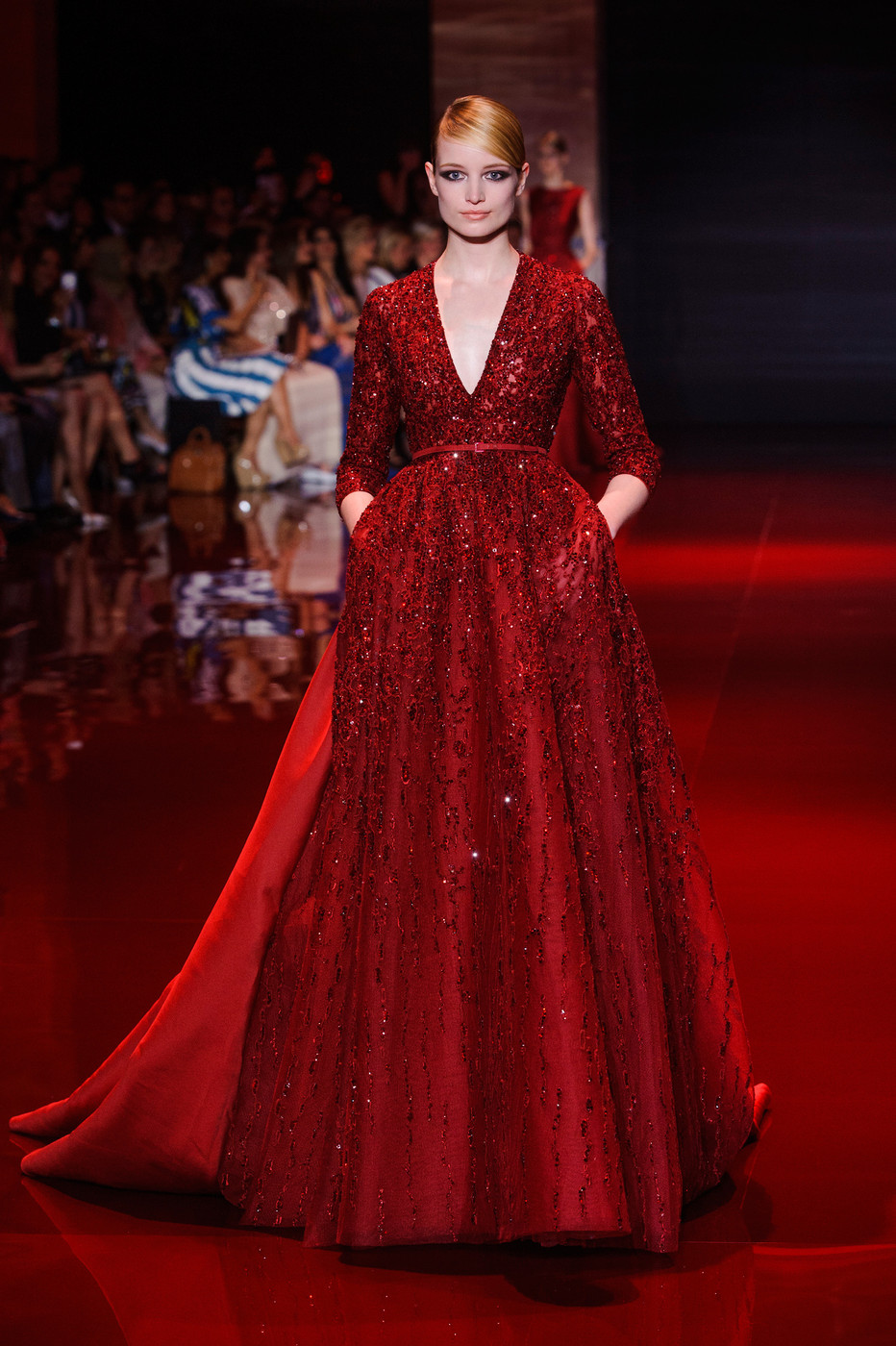 Elie saab fall 2013 for American haute couture designers