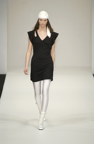 Emma Cook at London Fall 2003