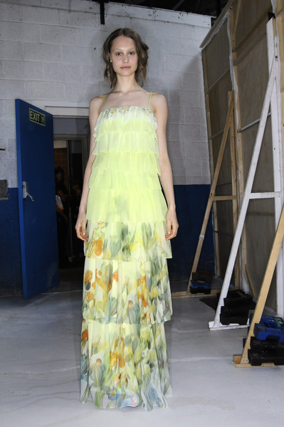Erdem at London Spring 2009 (Backstage)
