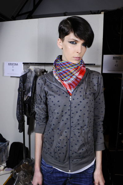 Ermanno Scervino at Milan Fall 2011 (Backstage)