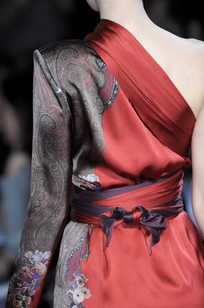 Etro Fall 2010 - Details