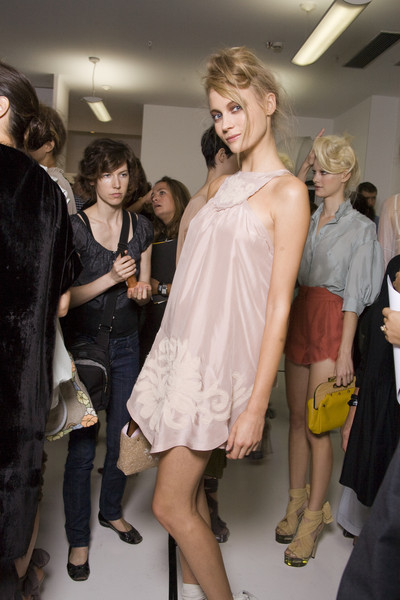 Fendi Spring 2010 - Backstage