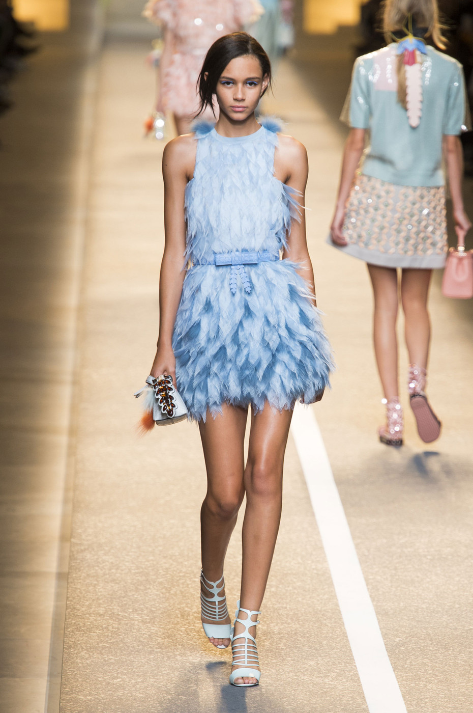 Fendi Spring 2015 The Best Runway Looks At Milan Fashion Week Spring 2015 Stylebistro