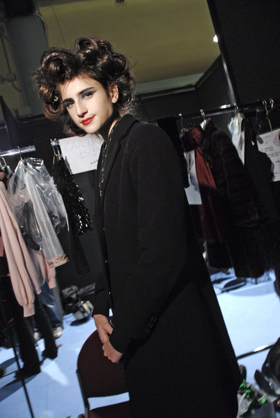 Frankie Morello Fall 2008 - Backstage