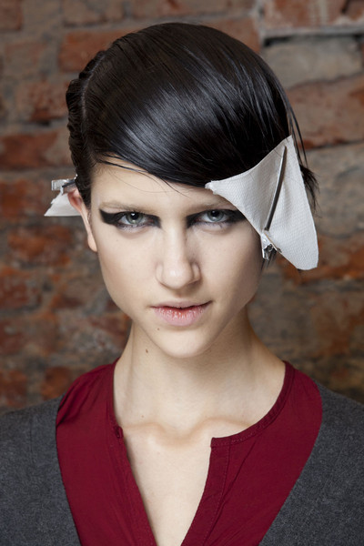 Frankie Morello at Milan Fall 2012 (Backstage)