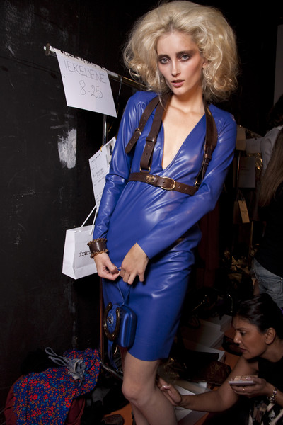 Frankie Morello at Milan Spring 2010 (Backstage)
